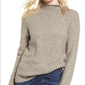 Madewell Inland Mock Neck Sweater